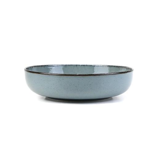 Салатник Mood 20см, 960мл, синий, Pearl, Kutahya